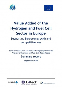 Understanding the value of hydrogen and fuel cells