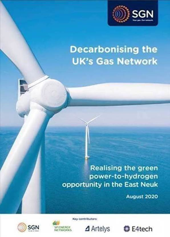 Decarbonising the UK's gas network – green power-to-hydrogen in Fife